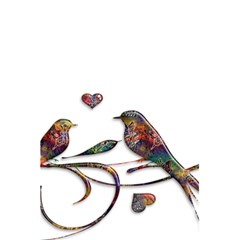 Birds Abstract Exotic Colorful 5 5  X 8 5  Notebooks