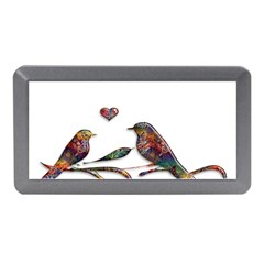 Birds Abstract Exotic Colorful Memory Card Reader (mini)