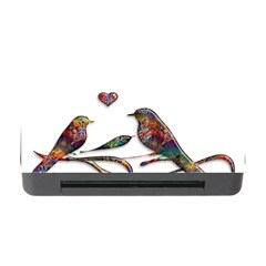 Birds Abstract Exotic Colorful Memory Card Reader With Cf