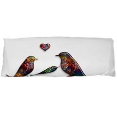 Birds Abstract Exotic Colorful Body Pillow Case (Dakimakura)