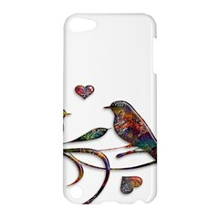 Birds Abstract Exotic Colorful Apple iPod Touch 5 Hardshell Case