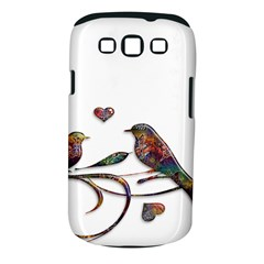 Birds Abstract Exotic Colorful Samsung Galaxy S Iii Classic Hardshell Case (pc+silicone)