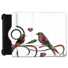 Birds Abstract Exotic Colorful Kindle Fire Hd 7