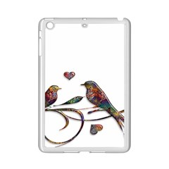 Birds Abstract Exotic Colorful Ipad Mini 2 Enamel Coated Cases