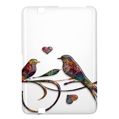 Birds Abstract Exotic Colorful Kindle Fire Hd 8 9