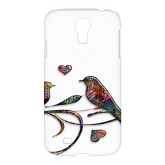 Birds Abstract Exotic Colorful Samsung Galaxy S4 I9500/I9505 Hardshell Case