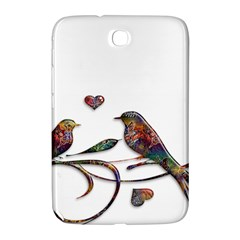 Birds Abstract Exotic Colorful Samsung Galaxy Note 8 0 N5100 Hardshell Case