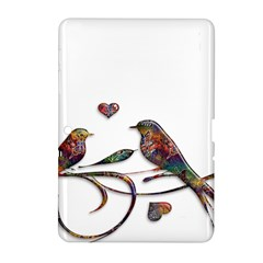 Birds Abstract Exotic Colorful Samsung Galaxy Tab 2 (10.1 ) P5100 Hardshell Case