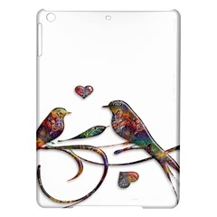Birds Abstract Exotic Colorful Ipad Air Hardshell Cases