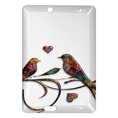 Birds Abstract Exotic Colorful Amazon Kindle Fire Hd (2013) Hardshell Case