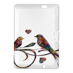 Birds Abstract Exotic Colorful Kindle Fire Hdx 8 9  Hardshell Case