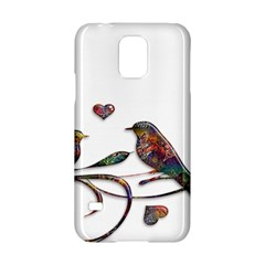 Birds Abstract Exotic Colorful Samsung Galaxy S5 Hardshell Case