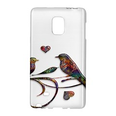 Birds Abstract Exotic Colorful Galaxy Note Edge