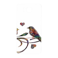 Birds Abstract Exotic Colorful Samsung Galaxy Alpha Hardshell Back Case