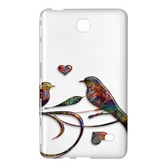 Birds Abstract Exotic Colorful Samsung Galaxy Tab 4 (8 ) Hardshell Case