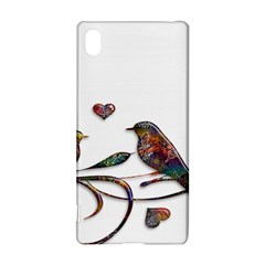 Birds Abstract Exotic Colorful Sony Xperia Z3+