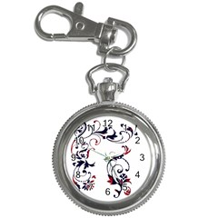 Scroll Border Swirls Abstract Key Chain Watches