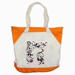 Scroll Border Swirls Abstract Accent Tote Bag
