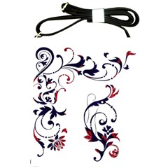 Scroll Border Swirls Abstract Shoulder Sling Bags