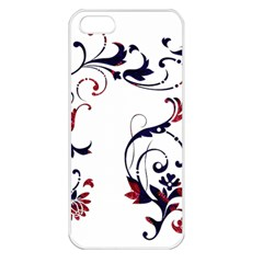 Scroll Border Swirls Abstract Apple Iphone 5 Seamless Case (white)