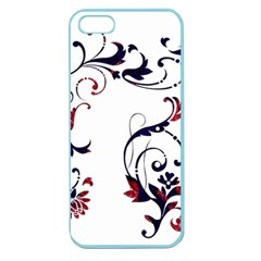 Scroll Border Swirls Abstract Apple Seamless Iphone 5 Case (color)