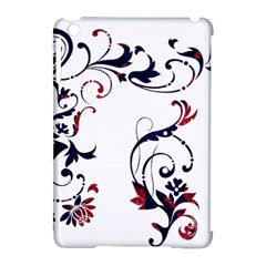 Scroll Border Swirls Abstract Apple Ipad Mini Hardshell Case (compatible With Smart Cover)