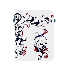 Scroll Border Swirls Abstract Apple Ipad 2/3/4 Protective Soft Cases