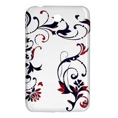 Scroll Border Swirls Abstract Samsung Galaxy Tab 3 (7 ) P3200 Hardshell Case