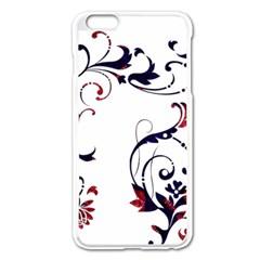 Scroll Border Swirls Abstract Apple Iphone 6 Plus/6s Plus Enamel White Case
