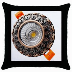 Lighting Commercial Lighting Throw Pillow Case (black)