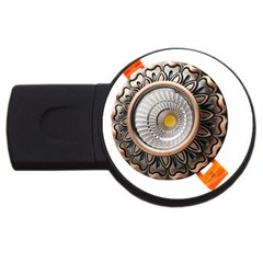 Lighting Commercial Lighting Usb Flash Drive Round (2 Gb)