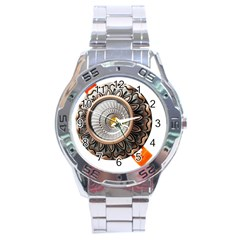 Lighting Commercial Lighting Stainless Steel Analogue Watch