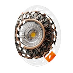 Lighting Commercial Lighting Oval Filigree Ornament (Two Sides)