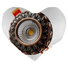 Lighting Commercial Lighting Large 19  Premium Heart Shape Cushions