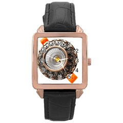 Lighting Commercial Lighting Rose Gold Leather Watch