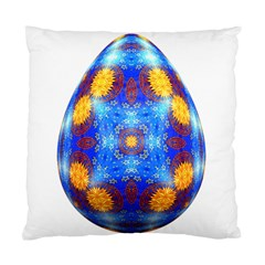 Easter Eggs Egg Blue Yellow Standard Cushion Case (two Sides)
