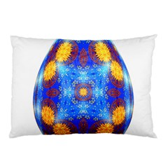 Easter Eggs Egg Blue Yellow Pillow Case