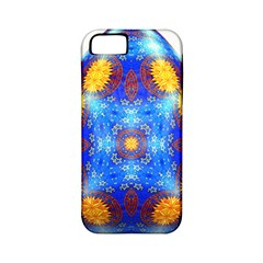 Easter Eggs Egg Blue Yellow Apple Iphone 5 Classic Hardshell Case (pc+silicone)