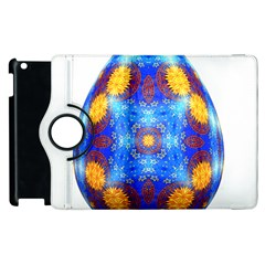 Easter Eggs Egg Blue Yellow Apple Ipad 3/4 Flip 360 Case