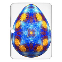 Easter Eggs Egg Blue Yellow Samsung Galaxy Tab 3 (10 1 ) P5200 Hardshell Case