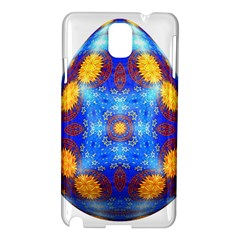 Easter Eggs Egg Blue Yellow Samsung Galaxy Note 3 N9005 Hardshell Case