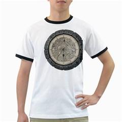 Clock Celtic Knot Time Celtic Knot Ringer T-Shirts
