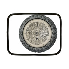 Clock Celtic Knot Time Celtic Knot Netbook Case (Small)