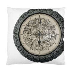Clock Celtic Knot Time Celtic Knot Standard Cushion Case (two Sides)