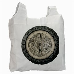 Clock Celtic Knot Time Celtic Knot Recycle Bag (one Side)