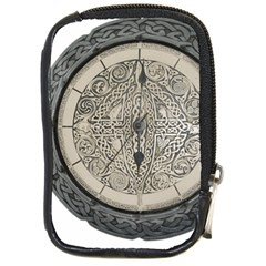 Clock Celtic Knot Time Celtic Knot Compact Camera Cases