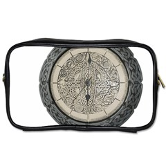 Clock Celtic Knot Time Celtic Knot Toiletries Bags