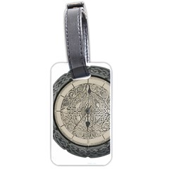 Clock Celtic Knot Time Celtic Knot Luggage Tags (one Side)