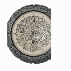 Clock Celtic Knot Time Celtic Knot Small Garden Flag (Two Sides)