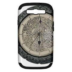 Clock Celtic Knot Time Celtic Knot Samsung Galaxy S III Hardshell Case (PC+Silicone)